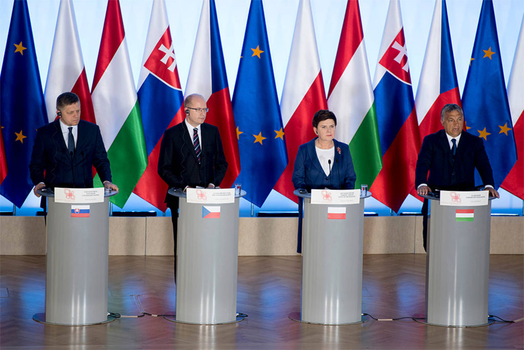 Prime Ministers of the Visegrad Gruop