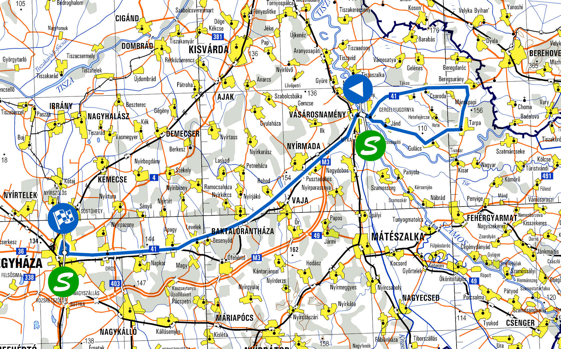 Visegrad 4 Juniors 2020 - Map Stage Nr. 3