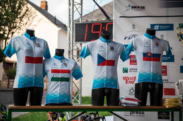 Jerseys of the Visegrad Group countries